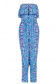Alice & Trixie | Zijden jumpsuit Memphis | print  | Afbeelding 1
