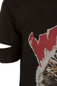 Zoe Karssen | T-shirt Wild Riders | zwart  | Afbeelding 6