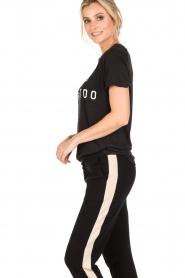 Zoe Karssen | T-shirt Raglan | zwart  | Afbeelding 4