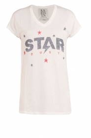T-shirt Star Dust | wit