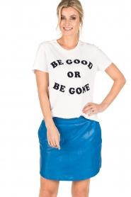 Zoe Karssen | T-shirt Be Good | wit  | Afbeelding 2