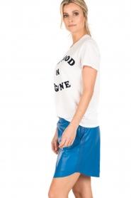 Zoe Karssen | T-shirt Be Good | wit  | Afbeelding 4