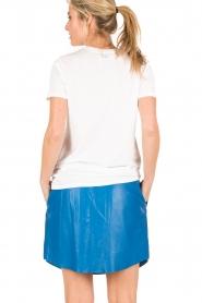 Zoe Karssen | T-shirt Be Good | wit  | Afbeelding 5