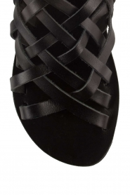 Nulla Nomen |  Leather sandals Rina | black  | Picture 6