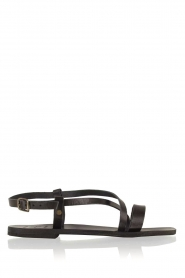 Nulla Nomen |  Leather sandals Bo | black  | Picture 1