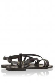 Nulla Nomen |  Leather sandals Bo | black  | Picture 3