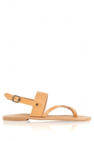 Nulla Nomen | Leren sandalen Gratia | camel  | Afbeelding 1