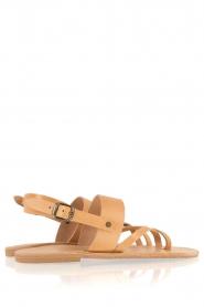 Nulla Nomen |  Leather sandals Gratia | camel  | Picture 5