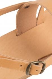 Nulla Nomen |  Leather sandals Gratia | camel  | Picture 7