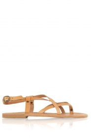 Nulla Nomen |  Leather sandals Lua | camel  | Picture 1