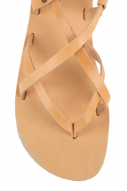 Nulla Nomen |  Leather sandals Lua | camel  | Picture 6