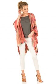 I love my Moment | Poncho Magda | roze  | Afbeelding 3