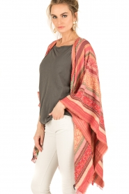 I love my Moment | Poncho Magda | roze  | Afbeelding 4