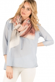 I love my Moment | Wollen sjaal Macy | print  | Afbeelding 2