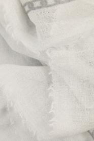 I love my Moment | Wollen sjaal Mad | grijs  | Afbeelding 3