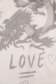 I love my Moment | Wollen sjaal Mad | grijs  | Afbeelding 4