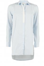 Dante 6 | Lange blouse Rosier | blauw  | Afbeelding 1