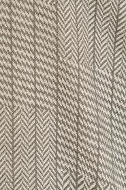 Dante 6 | Lange blouse Floryn | zwart/wit  | Afbeelding 6