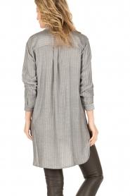 Dante 6 | Lange blouse Floryn | zwart/wit  | Afbeelding 5