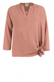 Dante 6 |  Blouse with knot detail Gail | old pink  | Picture 1