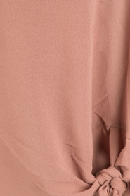 Dante 6 |  Blouse with knot detail Gail | old pink  | Picture 6