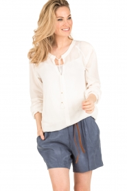 Dante 6 | Blouse Noly | wit  | Afbeelding 2