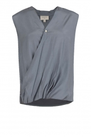 Omslagblouse Darlys | blauw