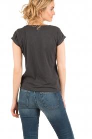 Leon & Harper | T-shirt Tova | zwart  | Afbeelding 5