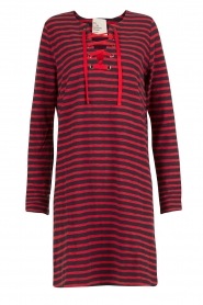 Leon & Harper |  Dress Realyn | dark blue/red  | Picture 1