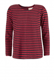 Top Tristan | donkerblauw/rood