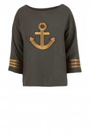 Leon & Harper |  Sweater Anchor | dark grey  | Picture 1