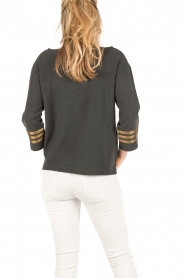 Leon & Harper |  Sweater Anchor | dark grey  | Picture 5