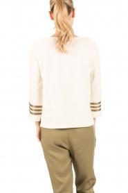 Leon & Harper |  Sweater Anchor | off-white  | Picture 5