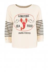 Leon & Harper | Trui Lobster | gebroken wit  | Afbeelding 1