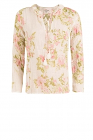 Leon & Harper |  Blouse Charles | print  | Picture 1