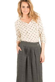 Hoss Intropia | Blouse Rachel | naturel  | Afbeelding 2