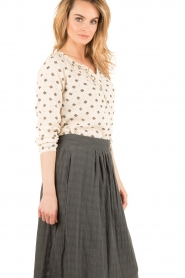 Hoss Intropia | Blouse Rachel | naturel  | Afbeelding 4