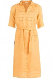 Hoss Intropia | Linnen blousejurk Macy | geel  | Afbeelding 1