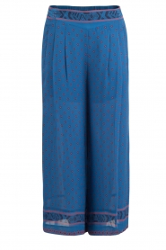 Hoss Intropia |  Silk pants Alita | blue  | Picture 1