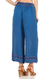 Hoss Intropia |  Silk pants Alita | blue  | Picture 5