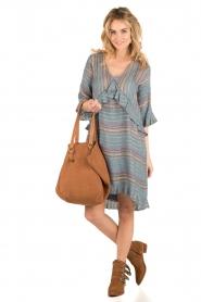 Hoss Intropia | korte jurk Alice | blauw  | Afbeelding 3