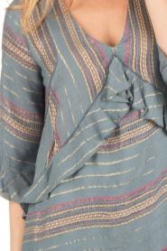 Hoss Intropia | korte jurk Alice | blauw  | Afbeelding 6