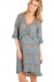 Hoss Intropia | korte jurk Alice | blauw  | Afbeelding 2