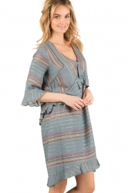Hoss Intropia | korte jurk Alice | blauw  | Afbeelding 4