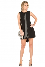 ELISABETTA FRANCHI |  Lace-ip dress Lexa | black  | Picture 3