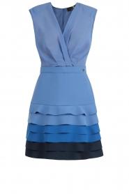 ELISABETTA FRANCHI | Ombre jurk Eliza | blauw  | Afbeelding 1
