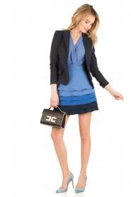 ELISABETTA FRANCHI | Ombre jurk Eliza | blauw  | Afbeelding 3