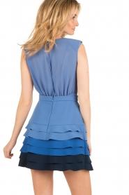 ELISABETTA FRANCHI | Ombre jurk Eliza | blauw  | Afbeelding 5