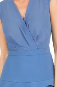 ELISABETTA FRANCHI | Ombre jurk Eliza | blauw  | Afbeelding 6