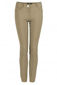 ELISABETTA FRANCHI | Skinny pantalon Felicia | khaki  | Afbeelding 1